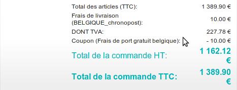 Termin frais de port offert pour les belges ce week end - Code promo brandalley frais de port offert ...