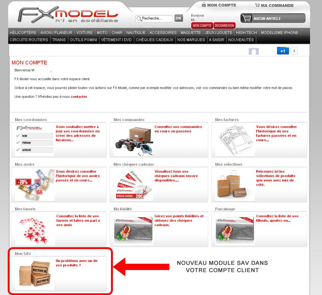 nouveau service apr s vente en ligne pour un meilleur suivi de vos produits. Black Bedroom Furniture Sets. Home Design Ideas